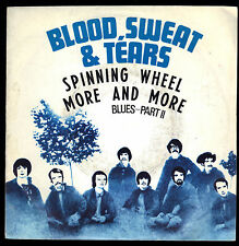 SPINNING WHEEL - MORE AND MORE # BLOOD, SWEAT & TEARS (PEACE&LOVE '60)