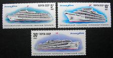Russia 1987 5557-5559 MNH OG Russian USSR River Passenger Ships Set $2.50!!
