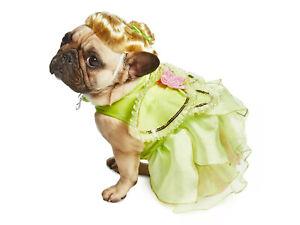 NEW Disney Store Tinker Bell Dog Pet Halloween Costume W/ Wig XL