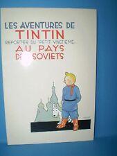 CARTE POSTALE TINTIN AU PAYS DES SOVIETS HERGE - MOULINSART N°912 /PRINTED IN EC