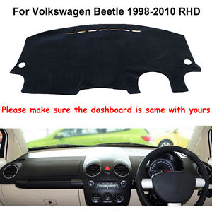 Fit For Volkswagen Beetle 1998-2010 Dashmat Dashboard Mat Dash Board Cover Pad