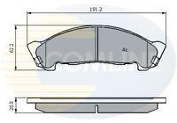 Comline Front Brake Pad Set CBP01175  - BRAND NEW - GENUINE - 5 YEAR WARRANTY