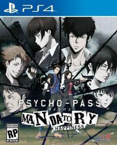 Psycho - Pass Mandatory Happiness Standard Edition (Playstation 4 2016) PS4