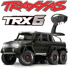 NEW Traxxas TRX-6 Mercedes-Benz G63 6x6 Scale & Trail RTR RC Crawler BLACK Body