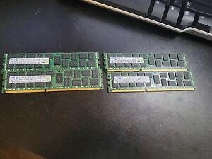 32GB 4x8GB Samsung Reg ECC Server Memory M393B1K70DH0-CK0 2Rx4 PC3-12800R