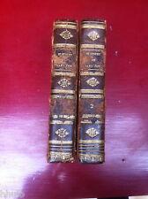 Histoire de Napoléon et grande Armée 2 volumes reliés gravures 1825