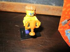 LEGO minifig minifigures series 15 wrestler champion winner gold cup win toy fun