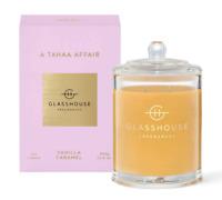 Glasshouse Tahaa 380g Soy Candle Vanilla Caramel Triple Scented Handmade