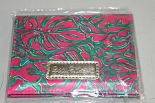 New Lilly Pulitzer Blotting Papers Sunkissed Pink Pass The Peanuts Id Case Holde