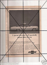 Vintage 1965 Popular Mechanics Magazine Ad A129 Chevrolet Impala Super Sport SS