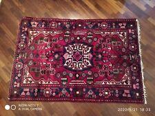 Tappeto Persiano annodato a mano in lana e seta