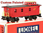 Lionel CUSTOM PAINTED Chicago & Northwestern C&NW Woodside Caboose #12793 LN