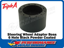 STEERING WHEEL ADAPTOR BOSS MGA 55-62 MGB 62-69 MGC 67-69 MG 1100 1300 BLACK