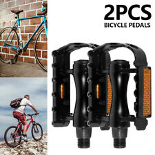 2PCS Mountain Road Cycling Bike Pedals BMX Platform Bicycle Pedals MTB Flat