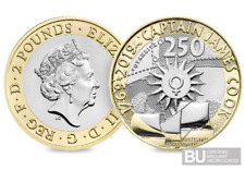 2019 UK Captain Cook's Voyage CERTIFIED BU £2