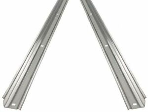 Angle Strips Dodge 1955 - 1960 Stainless Steel Short Bed Stepside Pickup Truck