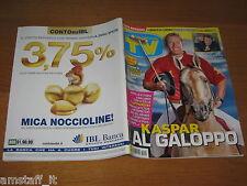 TV SORRISI E CANZONI=2011/20=KASPAR CAPPARONI=RAFFAELLA CARRA'=CLAUDIA PANDOLFI=