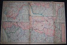 GERMAN - Weekly War Situation Map. Nr. 182, (14/1918). D.R.G.M. War Help Charity