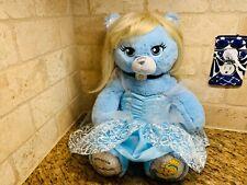 Build-A-Bear Limited Edition Disney Princess Cinderella Bear Plush With Dress