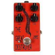 Dwarfcraft The Great Destroyer Rhythmic Oscillation Industrial Fuzz Effect Pedal