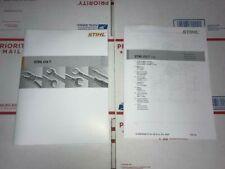 Stihl 019T, 019 T Chainsaw Service Workshop Repair & Parts List Diagram Manual