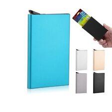 Slim Card Holder Wallet Pop Up Aluminum Unisex Purse Fast&Free Delivery