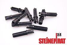 LEGO® 10x 18651 *NEU* Technic Achs Kreuz / Verbinder Pin / 3L  / schwarz 6089119