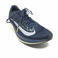 Men's Nike Zoom Fly Running Shoes Sneakers Size 11 US/45 EU Blue White Gray Z7