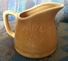 Franciscan Wheat Summer Tan 11-ounce Pitcher Very Good Condition