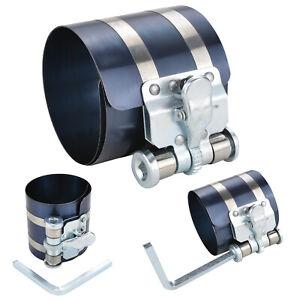 Quick Releas Engine Piston Ring Ratchet Type Compressor Clamp 53mm -175mm Diam