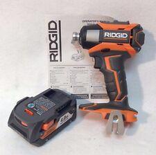 Ridgid R86035 GEN5X AEG 18V Hyper Li-Ion 3-Speed Impact Driver & 4.0Ah R840087