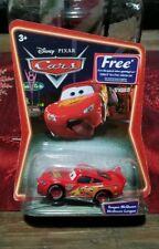 Disney Pixar Cars Supercharged Tongue Lightening McQueen On International Card