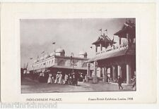 Franco British Exhibition, Indo Chinese Palace Postcard, B441