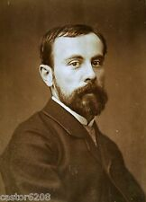 PHOTO ANCIENNE SALON 1883 PEINTRE Albert-Emile ARTIGUE 13,5x9,6