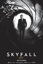 """Skyfall (Adv November) Two Sided 27""""x40' inches Original Movie Poster J Bond"""