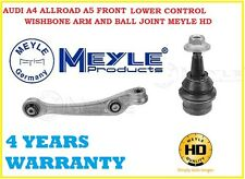A4 ALLROAD A5 FRONT LEFT LH LOWER CONTROL WISHBONE ARM BALL JOINT MEYLE HD