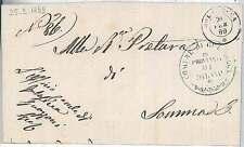 LOMBARDO VENETO - VARESE : Golasecca - BUSTA 1896