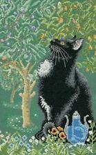 Lesley Anne Ivory Cats Cross Stitch Kit Myrrh