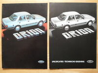 FORD Orion Range 1983 1984 Dutch Mkt brochure prospekt