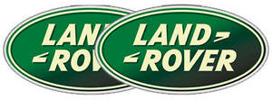 Land rover logo decals full colour, pair 300mm wide for land rover, 4x4 off road