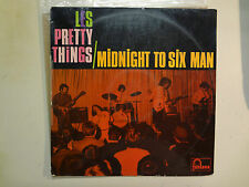 PRETTY THINGS:Midnight To Six Man-France LP Fontana D687.368 TL Mono Orig. PCV