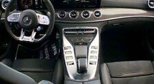 Mercedes-Benz OEM X290 AMG GT Coupe Carbon Fiber Interior Trim Kit 7 Pieces New