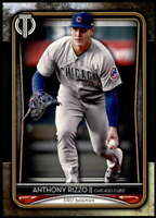 Anthony Rizzo 2020 Topps Tribute 5x7 Gold #47 /10 Cubs