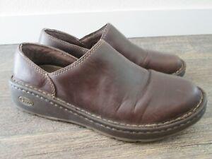 Chaco Zaagh Gunnison Brown Leather Slip On Loafer Vibram J102582 Women's US 9