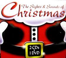 SIGHTS & SOUNDS OF CHRISTMAS  2 CD 1 DVD Music Celtic, Jazz Christmas,Nutcracker