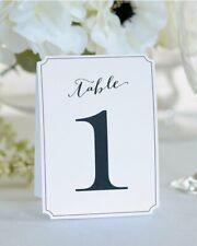 New Gartner Studios 1-12 Wedding Reception Table Numbers