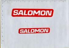 ADESIVO VINTAGE STICKER  salomon 2 misure