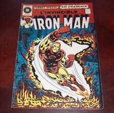 Editions Heritage Invincible Iron Man # 27 1976 French Edition Black White