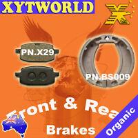 Emgo 93-27253  Yamaha CY 50 N Jog1992-2001 Emgo Brake Shoes W//grooves Yamaha 5h0