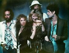 8x10 Print Fleetwood Mac Stevie Nicks Mick Fleetwood Christine McVie 1970's #Fwm